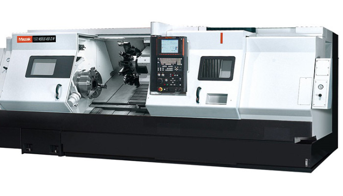 Mazak Nexus 450 CNC lathe machine at Silverado Oil Tools