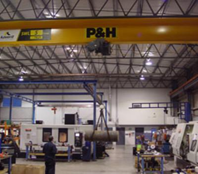 Overhead Cranes at Silverado Oil Tools