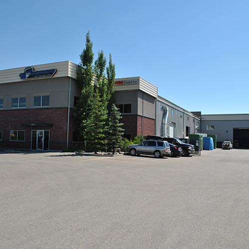 outside image of Silverado Oil Tools building in Calgary