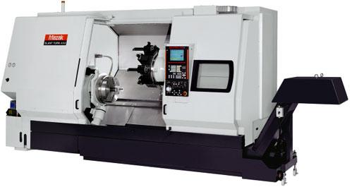 The Mazak 450 Slant-Turn CNC lathe machine
