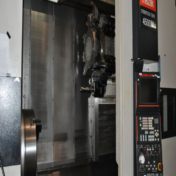 Lathe CNC machine at silverado oil tools